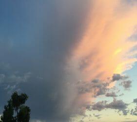 Nice cloud formation over Berwick