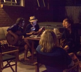 Guitars and ballads with best friends