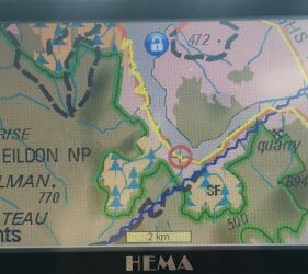HEMA Map of Lake Eildon