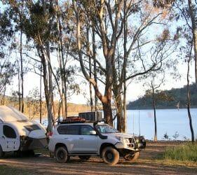 Newtons Campground, Lake Eildon