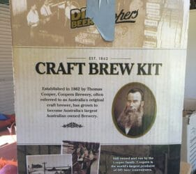 Coopers Craft Brew Kit