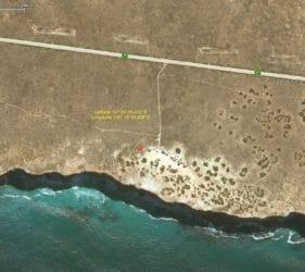Map of In Between the Dunes Campsite