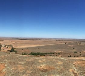 View from Mount Wudinna, South Australia