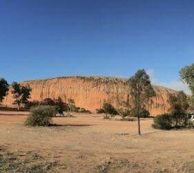 Our camp at Pildappa Rock, Minnipa, South Australia