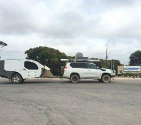 At the SA/WA Border at Border Village