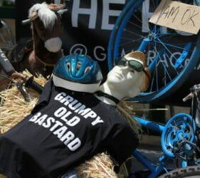Bike art around Gumeracha for the Tour Down Under