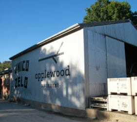 Unico Zelo/Applewood Distillery now occupy the Gumeracha Cold Stores