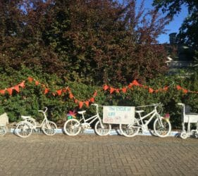 The Cycle of Life display presented by the Gumeracha Medical Practice for the Tour Down Under