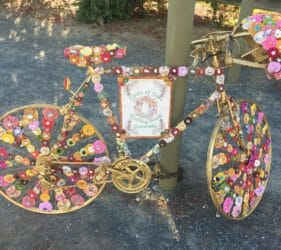 Display for Tour Down Under 2018 by Circle of Oaks Quilting Group, Gumeracha