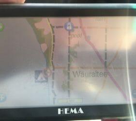 Hema map of Wauraltee Beach campsite